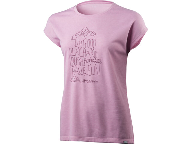 Houdini Big Up Message Tee Damen de lila